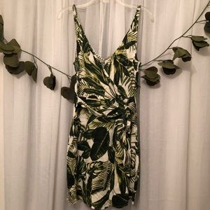 🌟2 for $30🌟 WORN ONCE H&M Botanical Dress